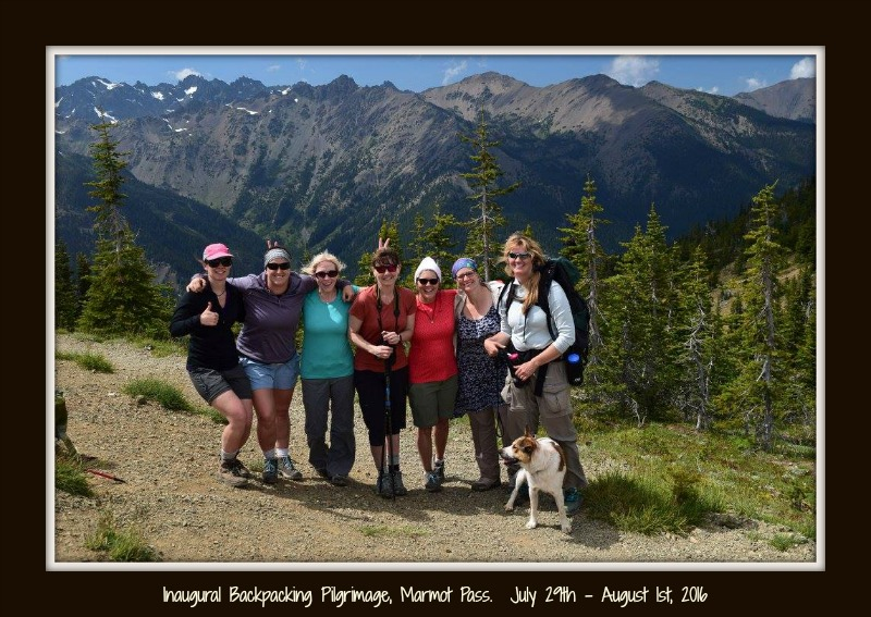 Marmot Pass Summit Inaugural Pilgrimage 2016.framed