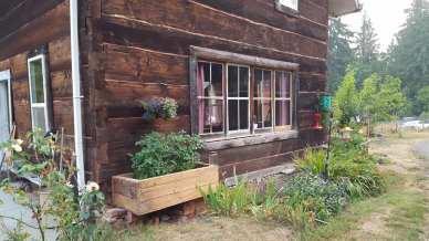 Our log home, originally built in 1892
