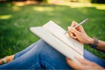 Journaling in Nature, Write with the Heart