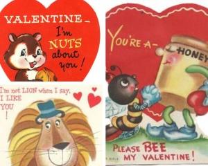 Valentines cards circa 1970's